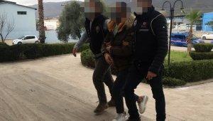 Milas'ta uyuşturucu ve silahla yakalanan şahıs tutuklandı
