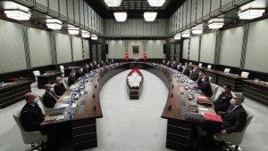 Milli Güvenlik Kurulu, Cumhurbaşkanı Recep Tayyip Erdoğan başkanlığında Beştepe'de toplandı.