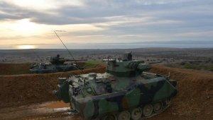 Milli Savunma Bakanlığı'ndan Zırhlı Muharebe Aracı atış tatbikatı