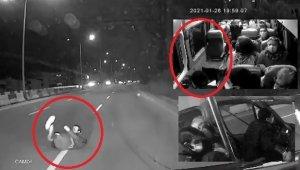 """Minibüsünün önüne atlayan yolcu: """"Amacım minibüse binmekti"""" - Bursa Haberleri"""