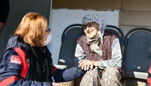 Mobil saha ekibi kar- kış dinlemiyor - Bursa Haberleri