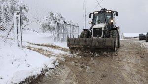 Mudanya'da yoğun kar mesaisi - Bursa Haberleri