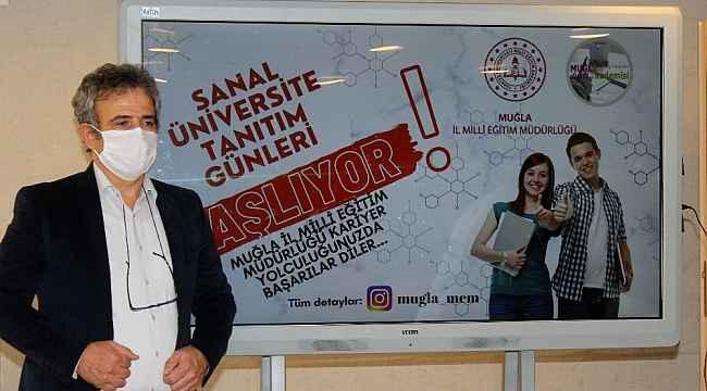 Muğla'da sanal üniversite tanıtım günleri başlıyor