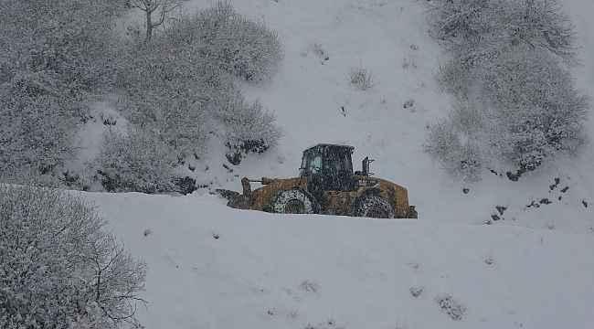 Muş'ta 82 köy yolu ulaşıma açıldı