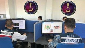 Muş'ta jandarma, siber suçlara göz açtırmadı