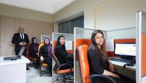 Nevşehir Belediyesi Çağrı merkezi geçen yıl 104 bin 167 çağrıya cevap verdi