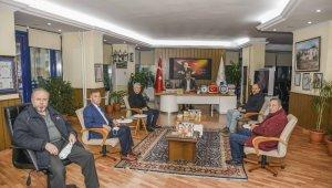 Oda başkanlarından Başkan Özkan'a ziyaret - Bursa Haberleri