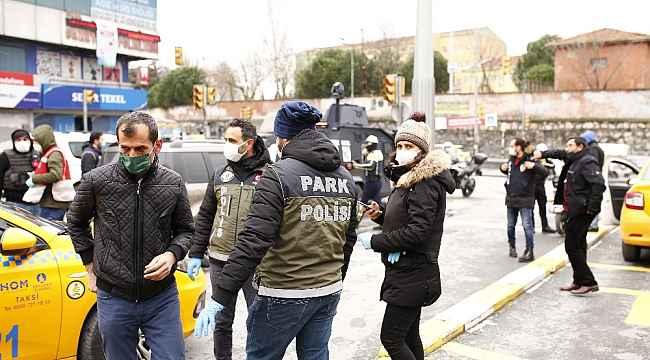 Okmeydanı'nda özel harekat polisli dev asayiş denetimi