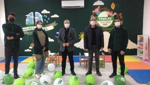 Okula Yeşilay Kulüp Odası kuruldu