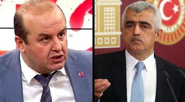 """Ömer Turan, """"Türkiye'de Kürt sorunu yok"""" dedi, HDP'li Gergerlioğlu tepki gösterdi"""