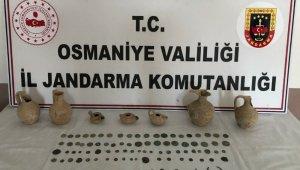 Osmaniye'de tarihi eser operasyonu