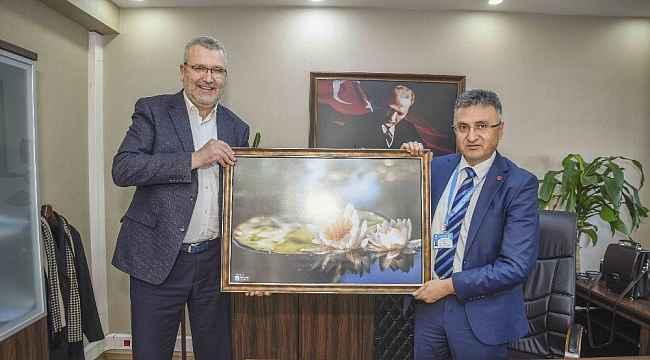Özkan'dan Balıkesir temasları - Bursa Haberleri