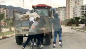 Patenli gençlerin tehlikeli yolculuğu