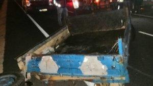 Patpat ile otomobil çarpıştı: 1 ölü, 1 yaralı