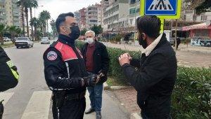 Polisin yayalarla sınavı