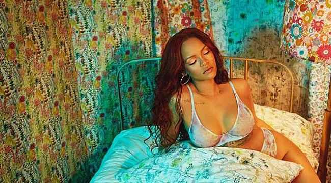 Rihanna, kendi iç çamaşır markasının tanıtımını için video hazırladı