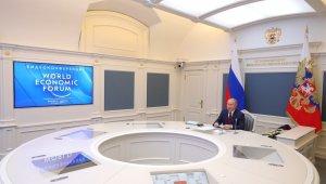 Rusya lideri Putin'den Dünya Ekonomik Forumunda önemli mesajlar