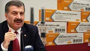"""Sağlık Bakanı Koca, """"Korona aşılarının ikinci sevkiyatı yarın sabah geliyor"""""""