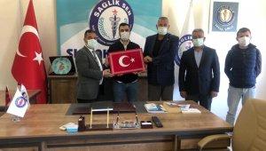 Sağlık-Sen Silopi Devlet Hastanesi iş yeri temsilciliğine Karaaslan getirildi