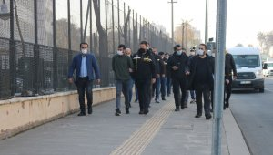 Sahte iş ilanı operasyonunda gözaltına alınan 13 zanlıdan 6'sı tutuklandı