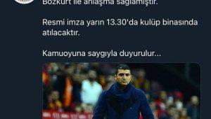Sakaryaspor'un takımın başına Serdar Bozkurt'u getirdi