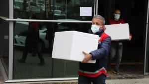 Samsun'da Covid-19 aşıları hastanelere dağıtılmaya başlandı