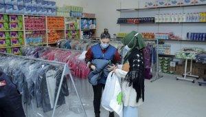 Şehitkamil'den dar gelirli ailelere giyim yardımı