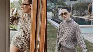 Serenay Sarıkaya'nın giydiği kazak sosyal medyayı ikiye böldü