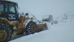 Şiddetli kar yağışına karşı yoğun tedbirler alındı