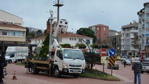Sinop'ta KGS kameralarına bakım