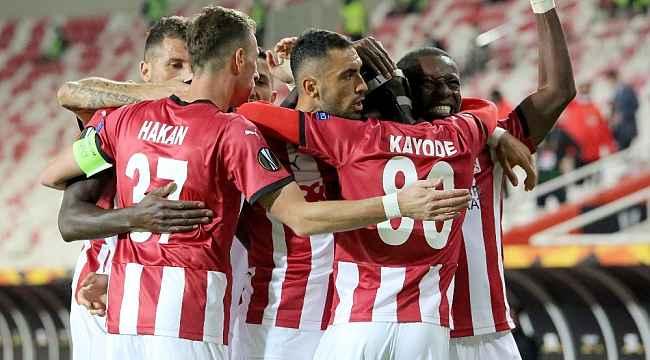 Sivasspor'un 500. maç heyecanı!