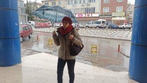 Şuhut'ta sağanak yağmur