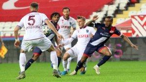 Süper Lig: Antalyaspor 1 - Trabzonspor: 1