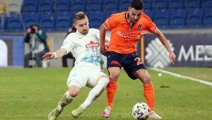 Süper Lig: Medipol Başakşehir: 1 - Çaykur Rizespor: 1