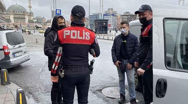 Taksim'de 'Yeditepe Huzur' uygulaması