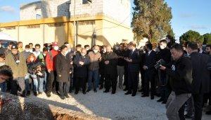 Telabyad'da hastane temeli atıldı, PTT şubesi açıldı