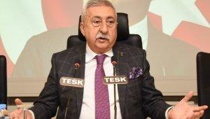 """TESK Genel Başkanı Palandöken: """"Önce hizmet sektöründeki esnafımız ve çalışanları aşı olmalı"""""""