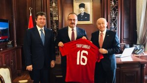 TFF Başkanı Nihat Özdemir, Bursa'da önemli ziyaretler gerçekleştirdi - Bursa Haberleri