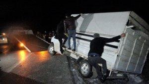 Tokat'ta gizli buzlanma kazalara neden oldu: 4 yaralı