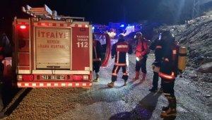 Tünelde yangın çıktı, 8 işçi dumandan zehirlendi