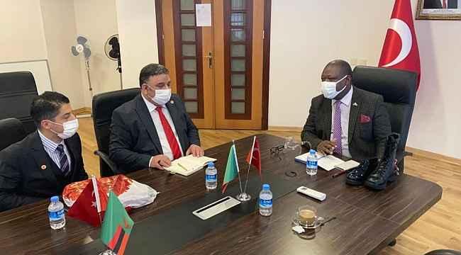 TUSİKON heyeti 1 milyar dolarlık yatırım için Zambiya'ya gidiyor
