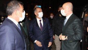 Ulaştırma ve Altyapı Bakanı Karaismailoğlu Adıyaman'da