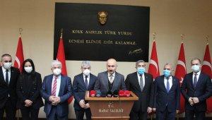 """Ulaştırma ve Altyapı Bakanı Karaismailoğlu: """"Türkiye, tüm mazlum milletlerin sırtını yasladığı dağ olmaya devam edecek"""""""