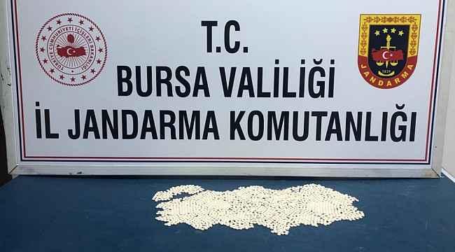 Uyuşturucu haplar 'Takip'ten kaçamadı - Bursa Haberleri