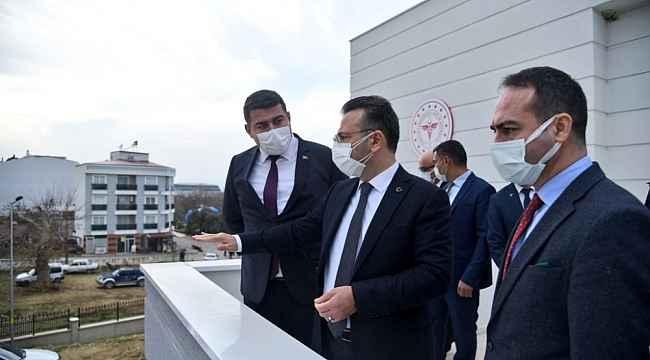 Vali Aksoy, Nazilli ve Yenipazar'da incelemelerde bulundu