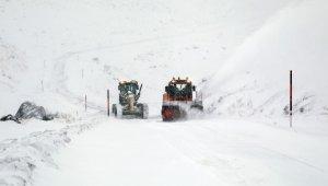 Van Büyükşehir Belediyesinin karla mücadelesinde büyük başarı