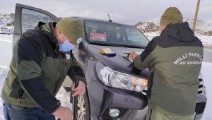 Van'da sokağa çıkma kısıtlamasında ava giderken 1 şahsa işlem yapıldı