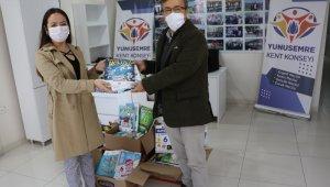 Yunusemre'de kitap ve oyuncak kampanyasına devan ediliyor