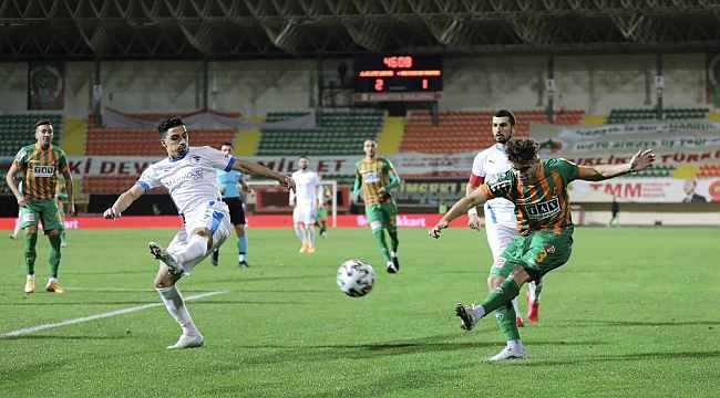 Ziraat Türkiye Kupası: Aytemiz Alanyaspor: 4 - BB Erzurumspor: 1
