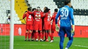 Ziraat Türkiye Kupası: Beşiktaş: 1 - Çaykur Rizespor. 0